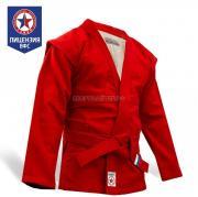 Куртка для самбо КрепышЯ - красная