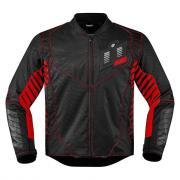 Icon Overlord Wireform красная мотокуртка (размер: l, цвет: черно - красные)