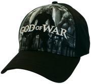 Бейсболка Difuzed: God Of War: Black Flex Front Full Print