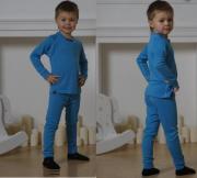 Комплект термобелья NORDSKI Warm Junior 272700 синий