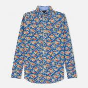 Женская рубашка Polo Ralph Lauren Heidi Printed Oxford Blue Floral