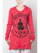 Худи жен. Yoga Stamp, Тайланд (S, red)