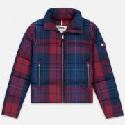 Женский пуховик Tommy Jeans Cotton Check Puffa