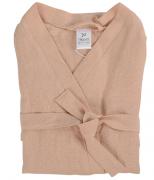 Халат из умягченного льна розово-пудрового цвета из коллекции essential Tkano размер m