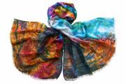 Палантин Tranini Парео цветное необычное 1925
