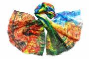 Палантин Tranini Парео разноцветное 1924