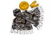 Комплект женский Tonak+Tranini берет+палантин+перчатки 39035