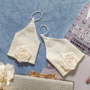 """Свадебные перчатки для невесты """"Изыск"""" (айвори)"""