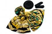 Комплект женский Tonak+Tranini берет+палантин+перчатки 39010