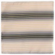 Светлый карманный платок унисекс с полосками 820272