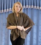 Мастерица. Теплый пуховый платок «Оренбургский» 138*140