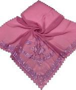 Платок в церковь розовый 270124