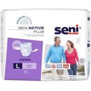 Трусы впитывающие Seni Active Plus, L (10 шт.)