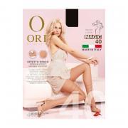 Женские колготки Ori Magic с эффектом Make-up, 40 den, цвет черный (nero), размер 3M