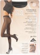 Колготки SiSi Invisible Control Top 30 Nero Размер 4