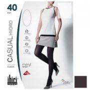 Ibici Casual 40 Hydro - Прозрачные колготки цвет кофе, размер 4