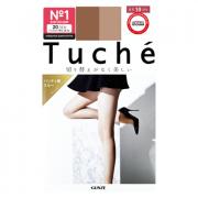 Колготки японские женские натуральный беж (20 Den M-L 3-4) эффект изящных щиколоток Tuche, Gunze 1 пара