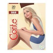 Колготки Conte Solo 20 den, цвет темный дымчатый (shade), размер 3/M