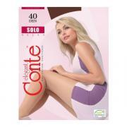 Колготки Conte Solo 40 den, цвет темный дымчатый (shade), размер 3/M