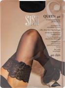 Чулки SiSi Queen 40 Nero черные Размер 3