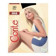 Колготки Conte Solo 20 den, цвет черный (nero), размер 5/XL