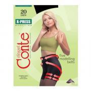 Колготки Conte X-Press 20 den, цвет черный (nero), размер 5/XL