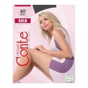 Колготки Conte Solo 40 den, цвет мокрого асфальта (grafit), размер 6/XXL