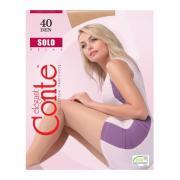 Колготки Conte Solo 40 den, цвет телесный (natural), размер 5/XL