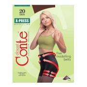 Колготки Conte X-Press 20 den, цвет темный дымчатый (shade), размер 5/XL