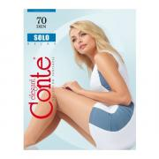 Колготки Conte Solo 70 den, цвет загара (bronz), размер 5/XL