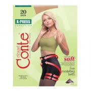 Колготки Conte X-Press 20 den, цвет телесный (natural), размер 5/XL