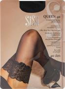 Чулки SiSi Queen 40 Nero черные Размер 4