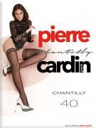 Чулки Pierre Cardin Chantilly 40 Nero Черные Размер 4