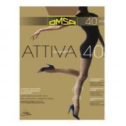 Колготки Omsa Attiva 40 den, цвет легкого загара (daino), размер 6/XXL