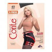 Колготки Conte X-Press 40 den, цвет черный (nero), размер 3/M