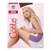 Колготки Conte Solo 40 den, цвет темный дымчатый (shade), размер 5/XL