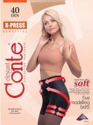 Conte X-Press Колготки женские 40d, p.5 mocca