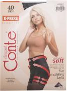 Колготки Conte Elegant X-Press 40 Nero Черные Размер 3