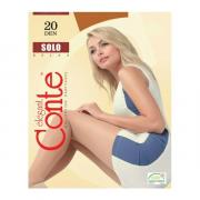 Колготки Conte Solo 20 den, цвет загара (bronz), размер 5/XL