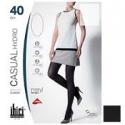 Ibici Casual 40 Hydro - Прозрачные колготки цвет черный, размер 4