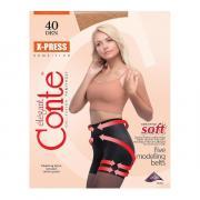 Колготки Conte X-Press 40 den, цвет загара (bronz), размер 5/XL