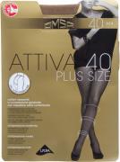 Колготки Omsa Attiva Plus size 40 Caramello Размер 6