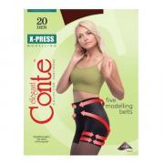 Колготки Conte X-Press 20 den, цвет кофейный (mocca), размер 5/XL