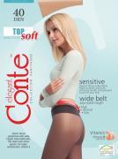 Колготки Conte Elegant Top Soft 40 Natural Размер 4
