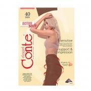 Колготки Conte Active Soft 40 den, цвет загара (bronz), размер 2/S