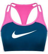 Спортивный топ бра Nike Swoosh, размер 48-50