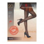 Женские колготки Грация Бела 20 den, цвет черный, размер 2-S