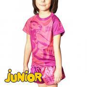 Детская футболка LEONE 1947 MASCOT ABJ12 Pink Leone