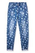 PlayToday Брюки текстильные джинсовые для девочек