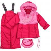 Куртка для девочки с сумочкой № 249